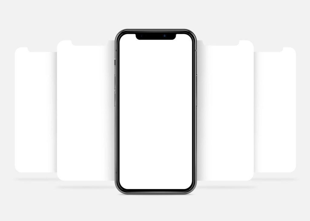 Free Phone X App Presentation Mockup
