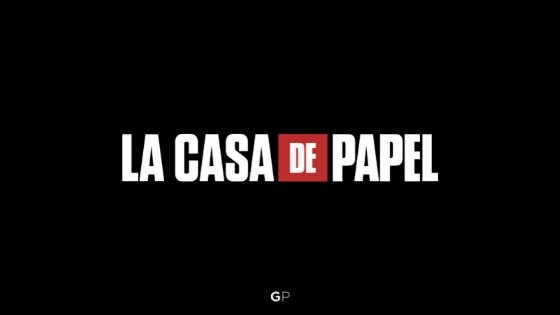 La Casa De Papel Font Graphic Pie