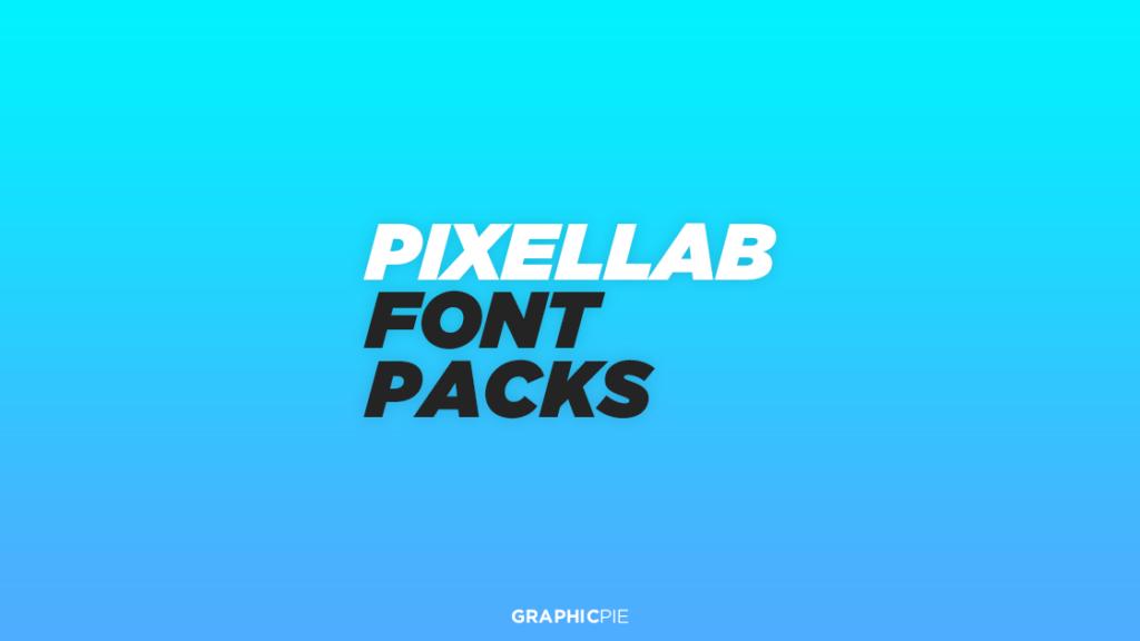 Download Pixellab Font Packs (Free) - Graphic Pie