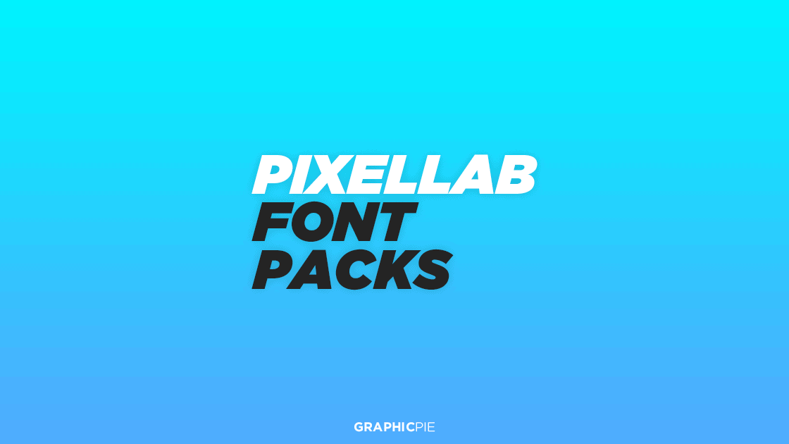 Download Pixellab Font Packs (Free) - Graphic Pie