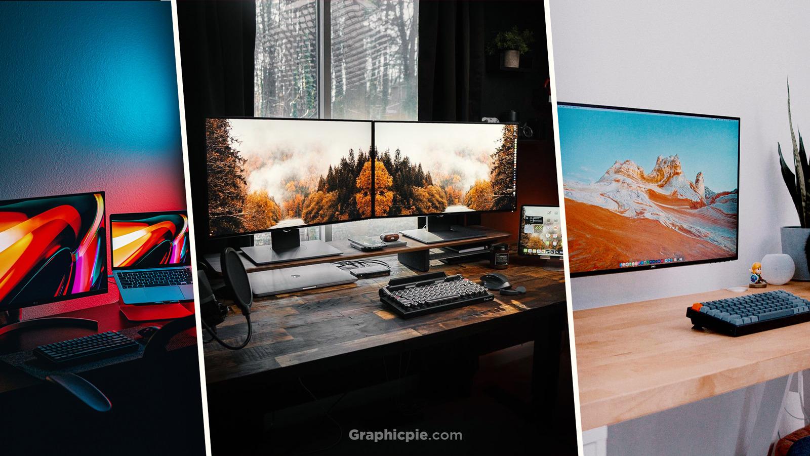 Best Laptop Desk Setups Ideas Graphic Pie